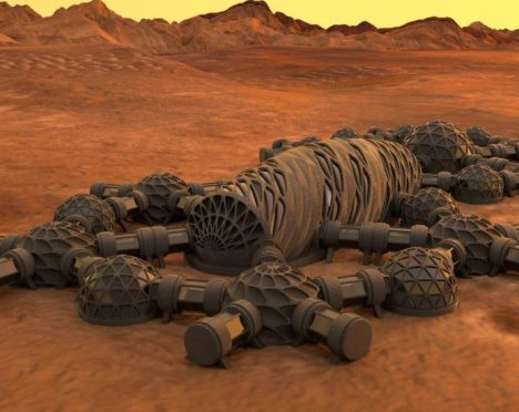 NASA looks to build habitats on other planets using 3D printing