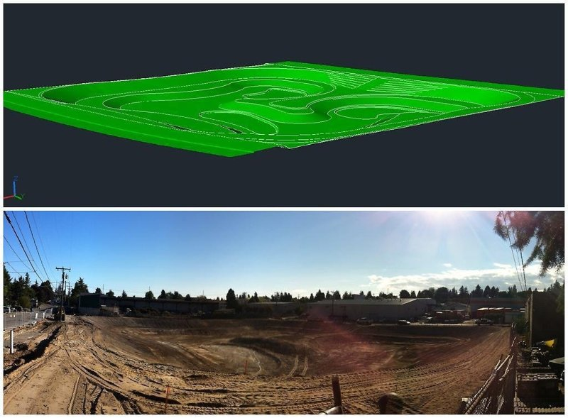 3d model of the Midvale Stormwater Facility